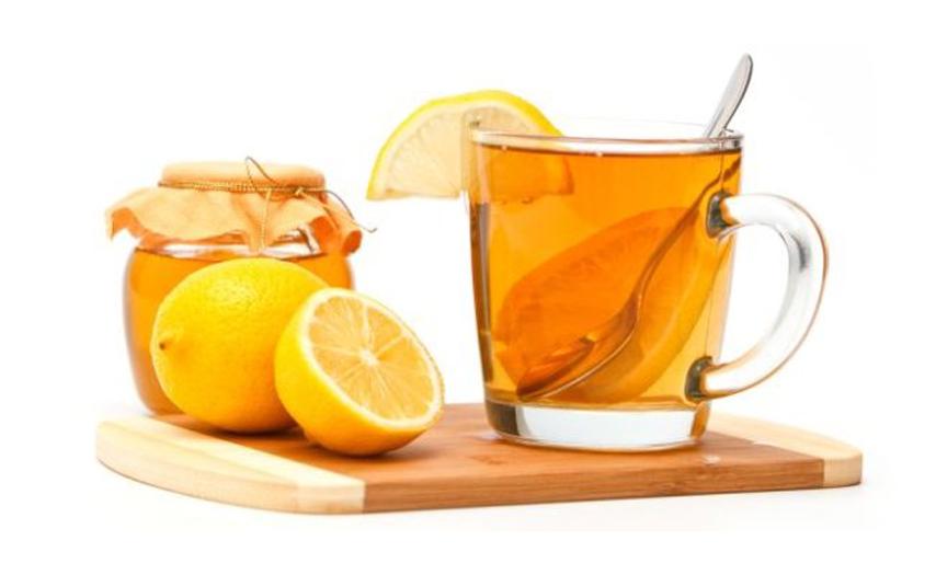 Herbata z miodem i cytryną dla naszego zdrowia !